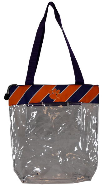 Clemson Gameday Clear Tote