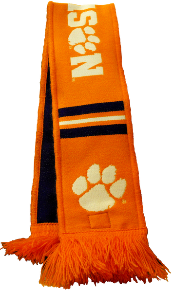 Clemson University National Championship Dog Scarf