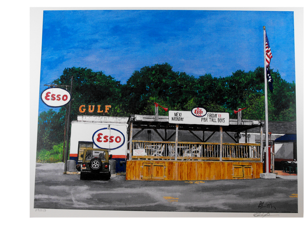 Esso Club Print - Bart Smith