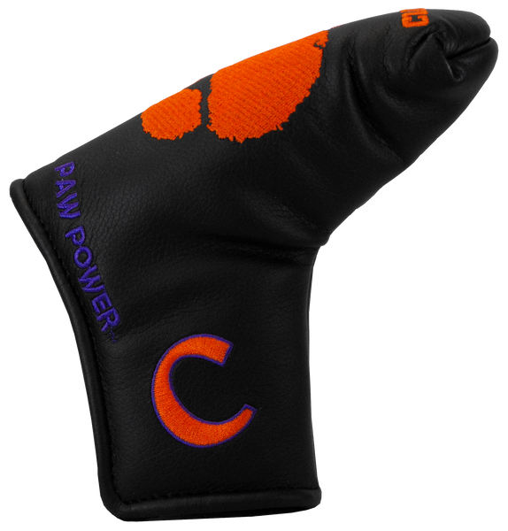 Clemson Golf- Blade Style Putter Cover