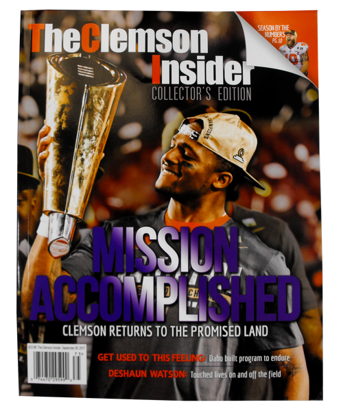 "Clemson Insider Magazine - ""Mission Accomplished"" Edition"