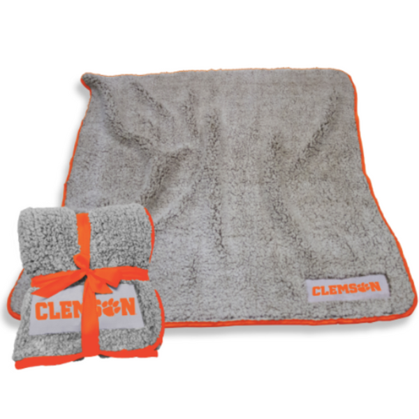 Clemson University Frosty Fleece Throw