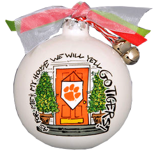 "Clemson University ""Me and My House"" Ornament"
