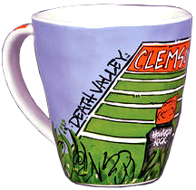 Clemson Ceramic Artwork Mug
