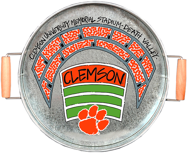 Clemson Metal Stadium Tray