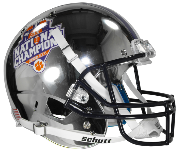 2016 National Championship Full Size Chrome Replica Helmet