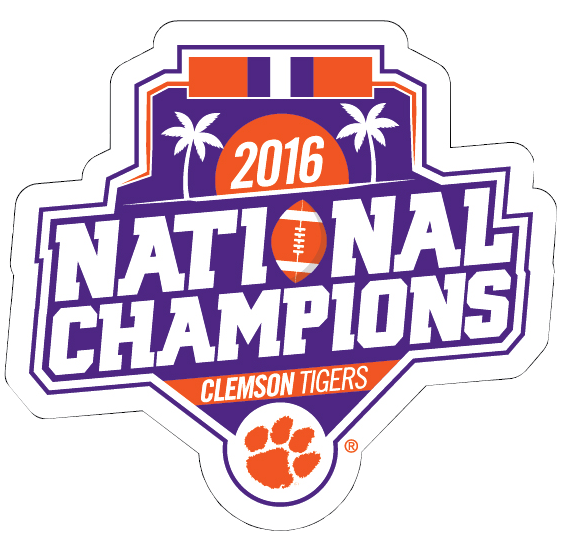 National Champions Vinyl Decal