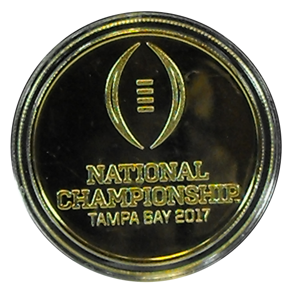 National Championship Gold Collectible Medallion