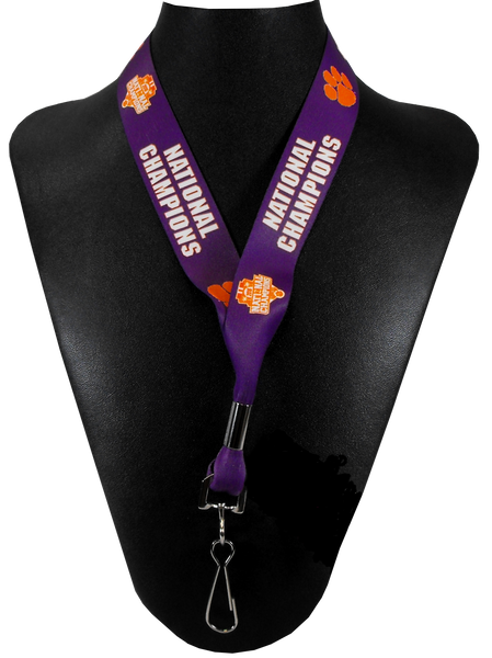 2016 National Champions Lanyard