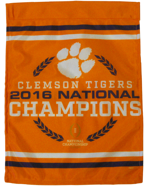Clemson National Champions Flag