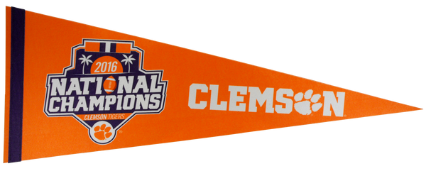 National Champions Pennant - Orange