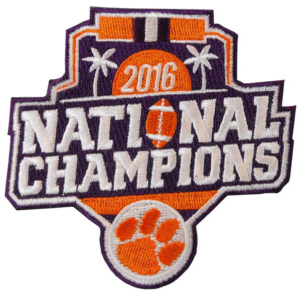 National Champions Embroidered Patch