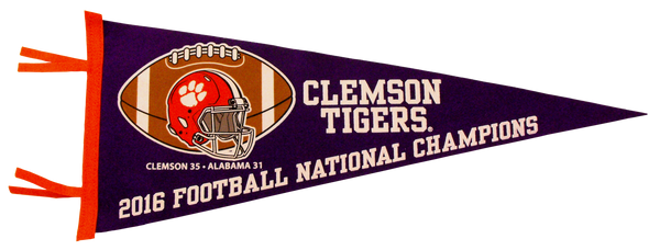 2016 National Champions Pennant