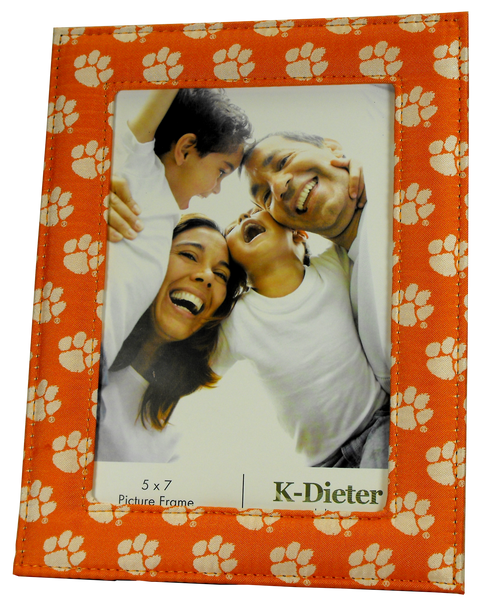 Clemson University Tiger Paw Frame