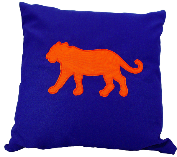Tiger Purple Deco Pillow