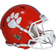 Clemson Riddell Full-Size Speed Replica Helmet