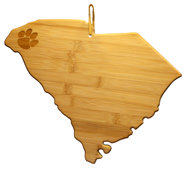 South Carolina Bamboo Cutting and Serving Board