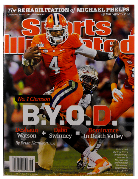 "Sports Illustrated -""B.Y.O.D."""