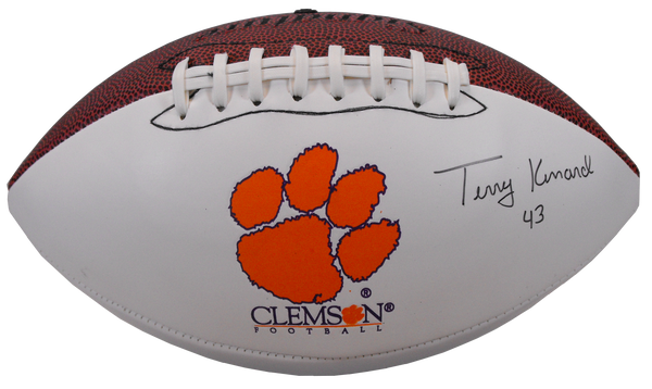 Terry Kinard Autographed Football