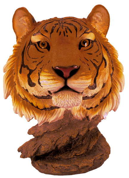 Clemson University-Tiger Bust Figurine
