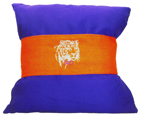 Clemson Gentleman Tiger Pillow Wrap