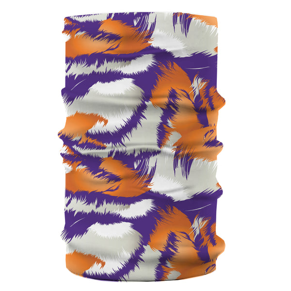 Clemson Tiger Stripe Gaiter/Face Mask