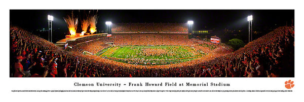 Clemson vs. UGA 2013 Panoramic Print - ESPN Gameday