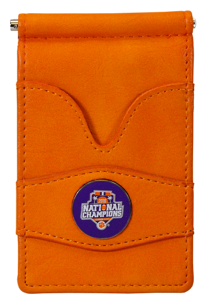 Clemson Orange National Championship Wallet