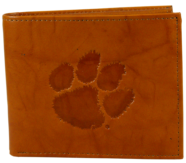 Clemson University Leather Bifold Wallet