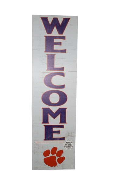 Clemson Indoor/Outdoor Welcome Sign