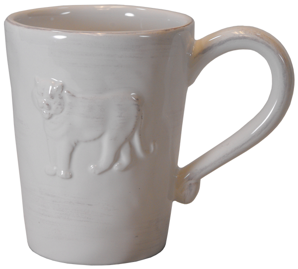 Clemson Raised Tiger Mug