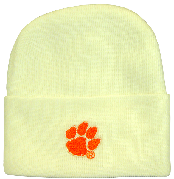 Clemson Baby Cap - Orange or White