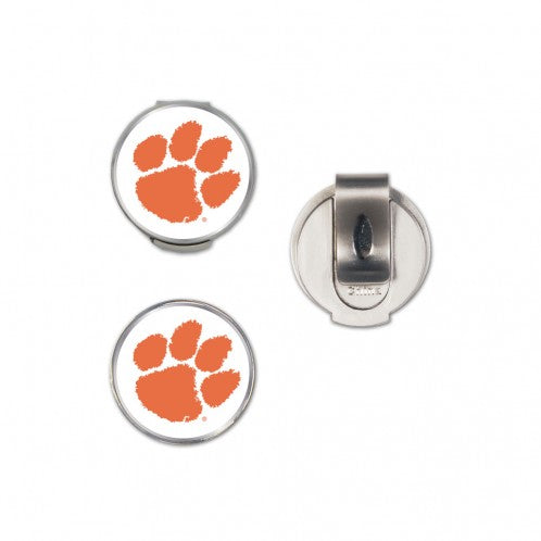 Clemson University Hat Clip Ball Marker