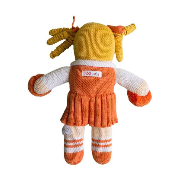 Clemson Cheerleader Plush Rattle and Doll