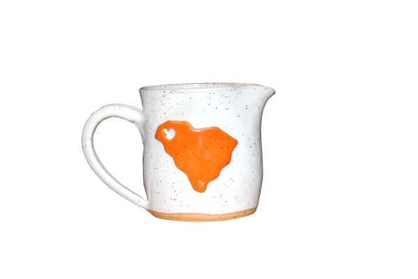 South Carolina Stoneware Creamer