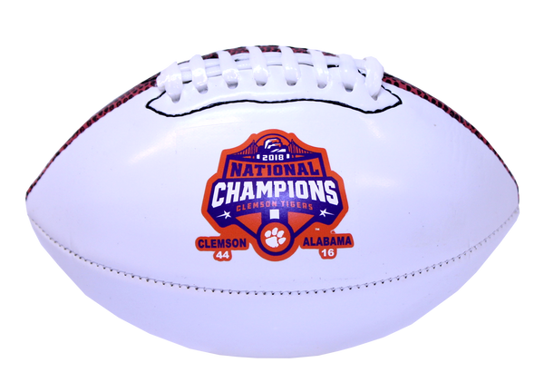 Clemson 2018 National Championship Mini Football