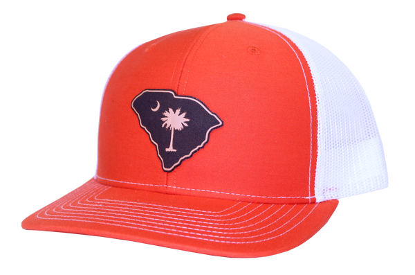 South Carolina Hat in Orange, Heathered Gray, or Gray