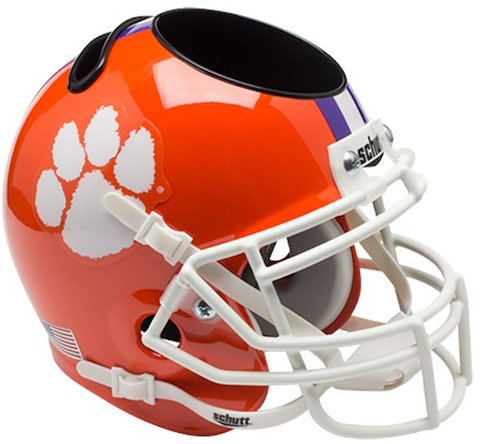Clemson University Mini Helmet Desk Caddy