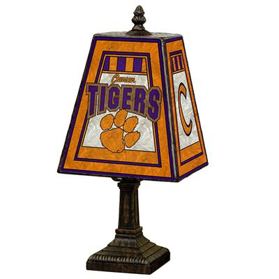 Clemson University-Stainglass Desk Lamp