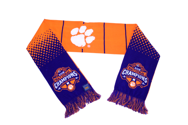 Clemson 2018 National Championship Scarf