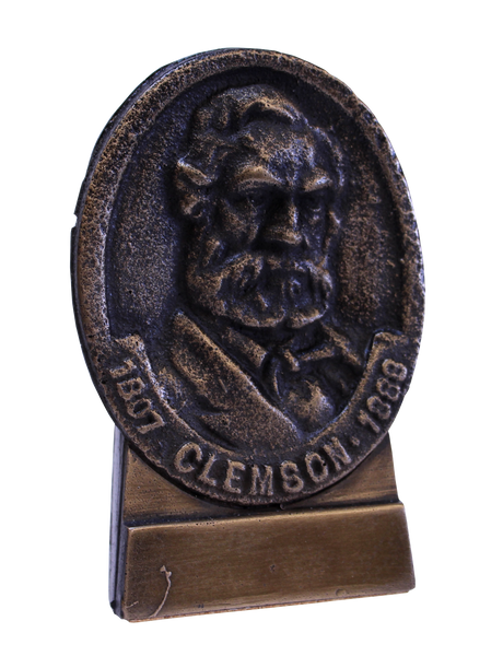 Clemson University Thomas Greene Clemson Bust