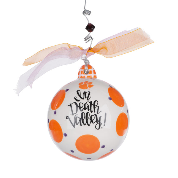 Clemson Death Valley Ceramic Ornament