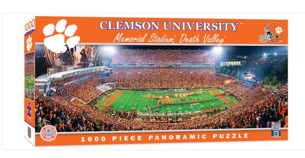 Clemson Stadium Panoramic Jigsaw Puzzle