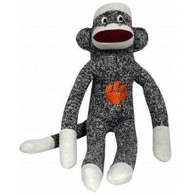 Clemson Plush Sock Monkey