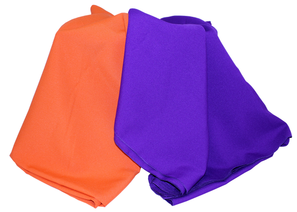 Clemson Orange or Purple Tablecloth