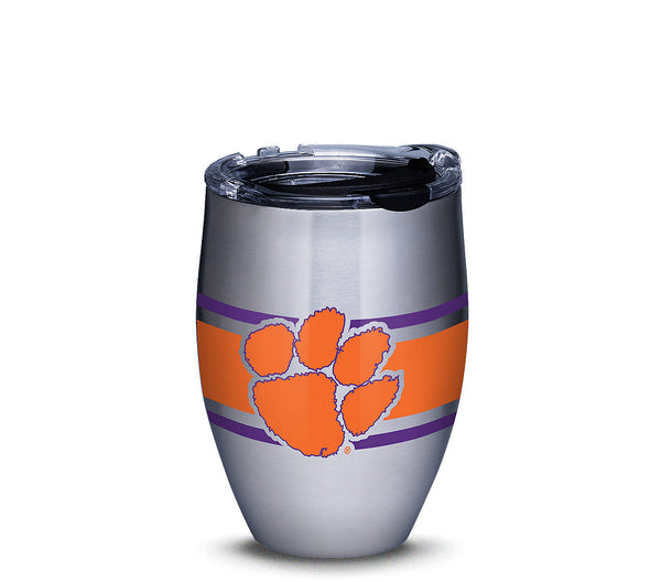 Clemson Tervis Stainless Stemless Wine