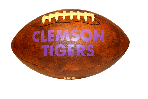 Clemson Gentleman Vintage-Look Football
