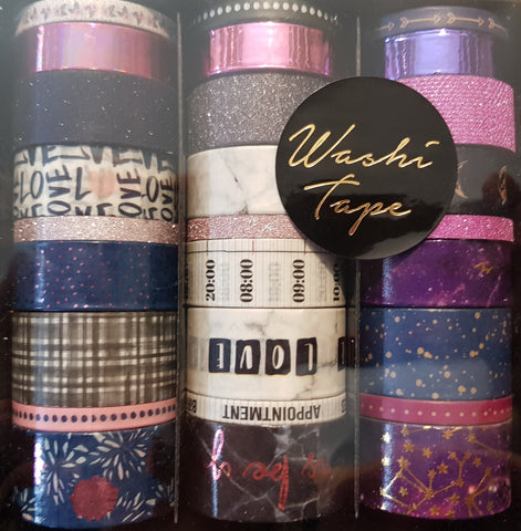 Washi-Tape Box - Purple