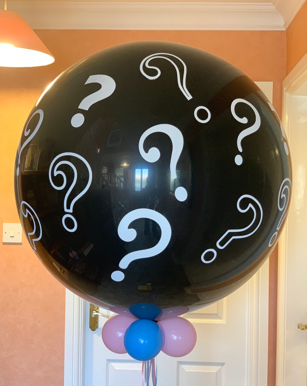 Large Helium filled Gender Reveal Balloon