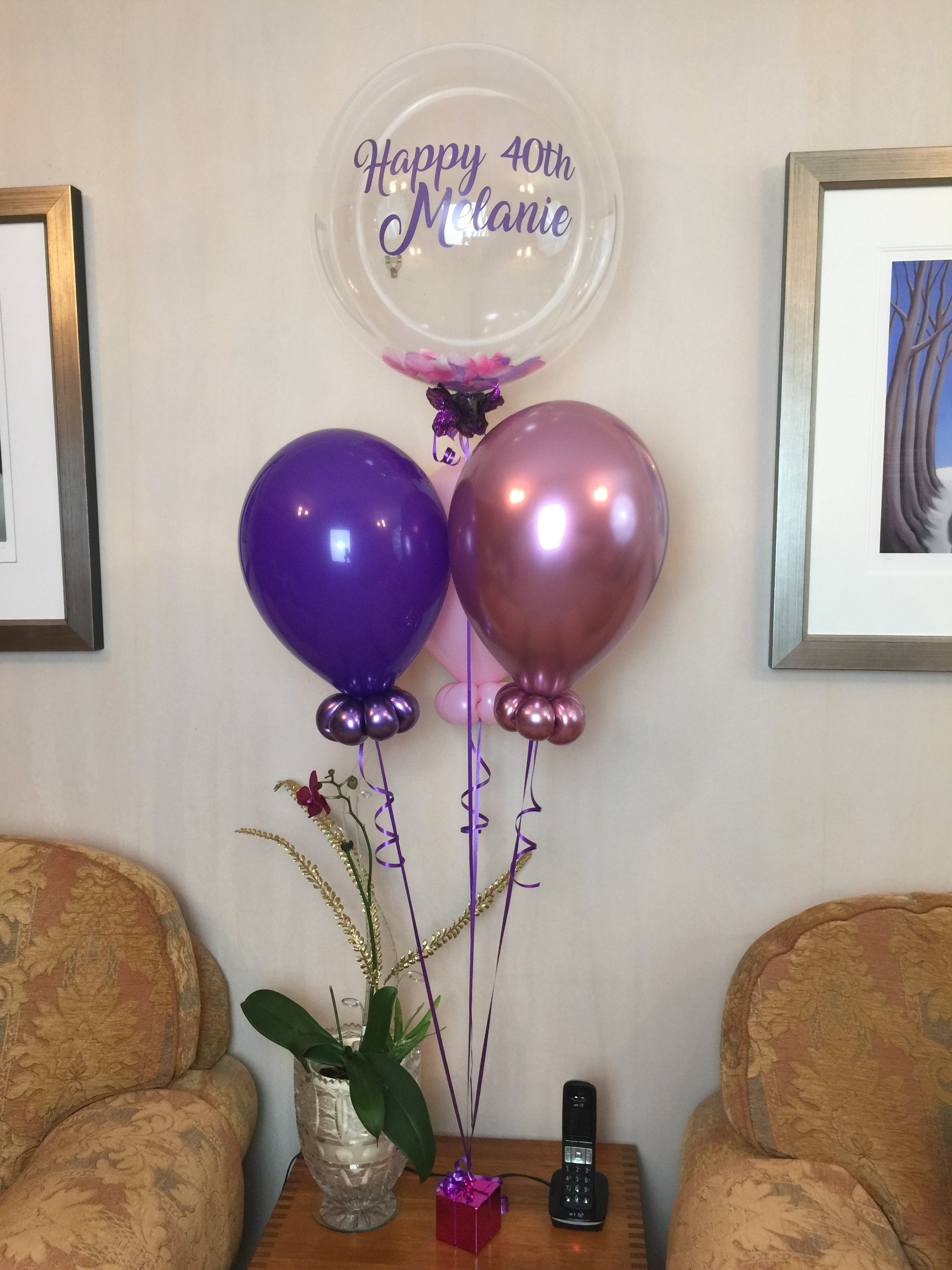 Personalised Balloon Bouquet